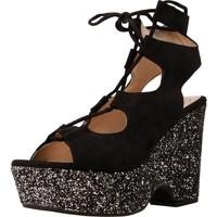 Schuhe Damen Sandalen / Sandaletten Angel Alarcon 16625A Schwarz