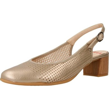 Schuhe Damen Sandalen / Sandaletten Mikaela 73900 Gold