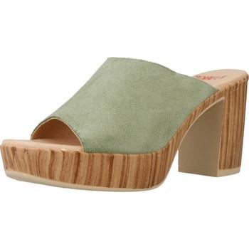 Schuhe Damen Pantoletten / Clogs Mikaela 17045 Grün