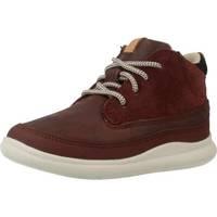 Schuhe Jungen Boots Clarks CLOUD AIR FST Rot