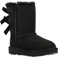 Schuhe Mädchen Schneestiefel UGG BAILEY BOW II Schwarz