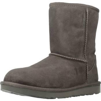 Schuhe Mädchen Schneestiefel UGG CLASSIC II Grau