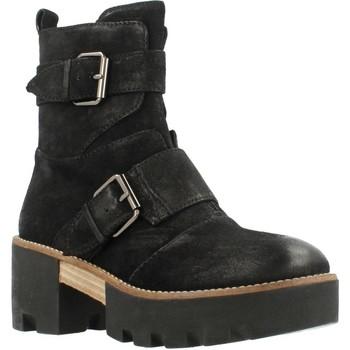 Schuhe Damen Low Boots Elvio Zanon G0403G Schwarz