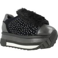 Schuhe Damen Sneaker Low Elvio Zanon G6204N Blau