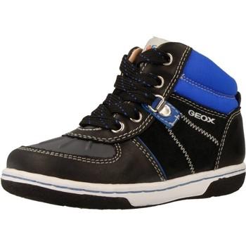 Schuhe Jungen Sneaker High Geox B FLICK BOY Blau