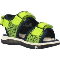Schuhe Jungen Sandalen / Sandaletten Geox B SANDAL TODO BOY Gelb