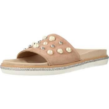 Schuhe Damen Pantoletten Alpe 3686 12 Brown