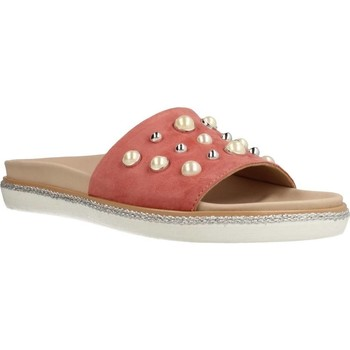 Schuhe Damen Pantoletten Alpe 3686 12 Rosa