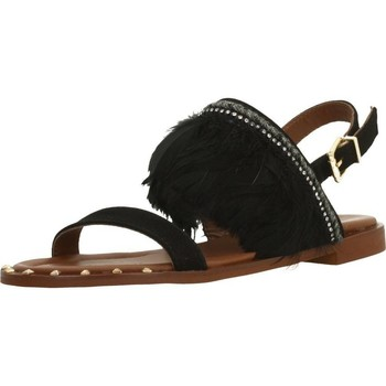 Schuhe Damen Sandalen / Sandaletten Alpe 3744 12 Schwarz
