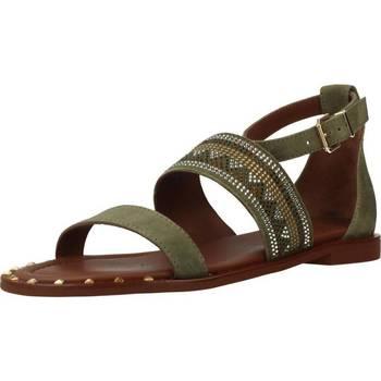 Schuhe Damen Sandalen / Sandaletten Alpe 3747 12 Grün