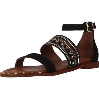 Schuhe Damen Sandalen / Sandaletten Alpe 3747 12 Schwarz
