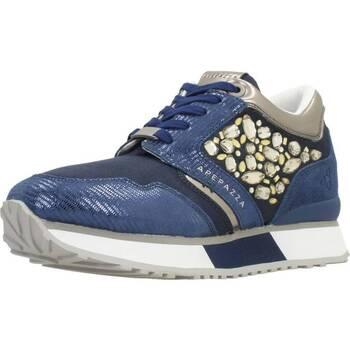 Schuhe Damen Sneaker Low Apepazza RAPHAELLE Blau