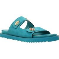Schuhe Damen Sandalen / Sandaletten Elvio Zanon H0503P Blau