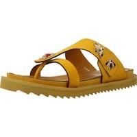 Schuhe Damen Sandalen / Sandaletten Elvio Zanon H0504P Gelb