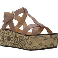 Schuhe Damen Sandalen / Sandaletten Elvio Zanon H0804P Brown