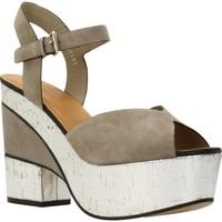 Schuhe Damen Sandalen / Sandaletten Elvio Zanon H5701P Brown