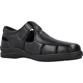 Schuhe Herren Sandalen / Sandaletten Pinosos 6008H Schwarz