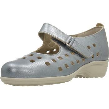 Schuhe Damen Derby-Schuhe & Richelieu Pinosos 7579 G Silber