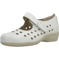 Schuhe Damen Derby-Schuhe & Richelieu Pinosos 7579 G Weiß