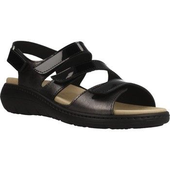 Schuhe Damen Sandalen / Sandaletten Pinosos 7574P Schwarz