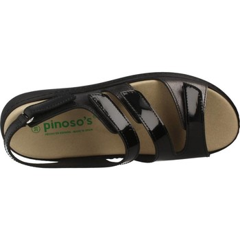 Pinoso's 7574P Schwarz - Schuhe Sandalen / Sandaletten Damen 4295