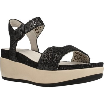 Schuhe Damen Sandalen / Sandaletten Lumberjack BLANCHE Schwarz