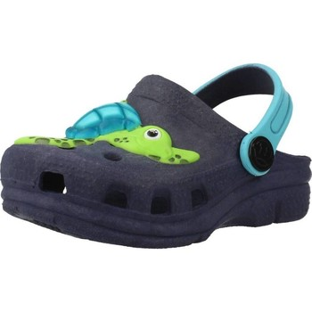 Schuhe Jungen Pantoletten / Clogs Plugt BABUCHE BABY TARTARUGA Blau