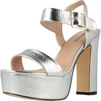 Schuhe Damen Sandalen / Sandaletten Be Different Be Yellow ROSELLA Silber