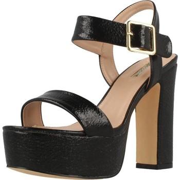 Schuhe Damen Sandalen / Sandaletten Be Different Be Yellow ROSELLA Schwarz