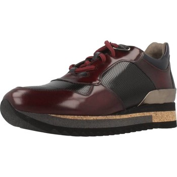 Schuhe Damen Sneaker Low Angel Infantes 570A Rot