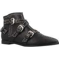 Schuhe Damen Low Boots Janet&Janet WANDA42002 Schwarz