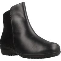 Schuhe Damen Boots Pinosos 7656 H Schwarz