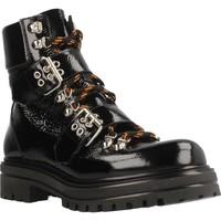 Schuhe Damen Low Boots Albano 8056AL Schwarz