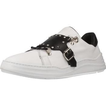 Schuhe Damen Sneaker Low Albano 8141AL Weiß