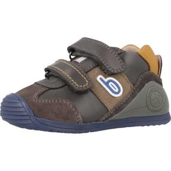 Schuhe Jungen Sneaker High Biomecanics 181155 Grau