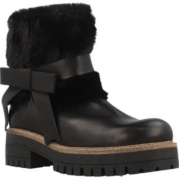Schuhe Damen Boots Elena 38002C Schwarz