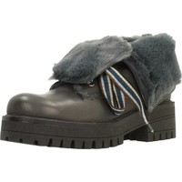 Schuhe Damen Boots Elena 38132C Grau
