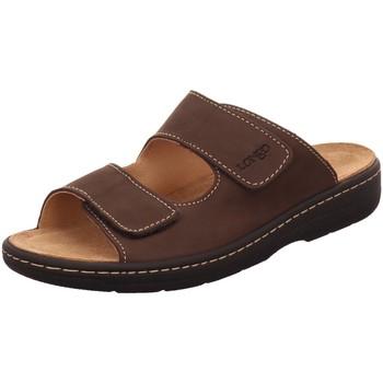 Schuhe Herren Sandalen / Sandaletten Longo Offene Beq. Clogs Wörishf 1006509-LH10912 braun