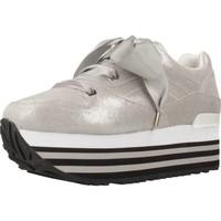 Schuhe Damen Sneaker Low Apepazza 83013 Silber