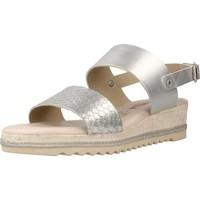 Schuhe Damen Sandalen / Sandaletten Carmela 66161C Silber