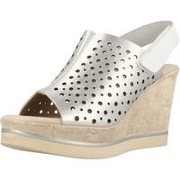 Schuhe Damen Sandalen / Sandaletten Carmela 66165C Silber
