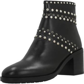 Schuhe Damen Boots Elvio Zanon I6301N Schwarz
