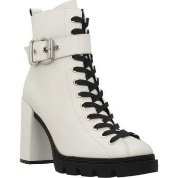 Schuhe Damen Low Boots Elvio Zanon I7503N Weiß