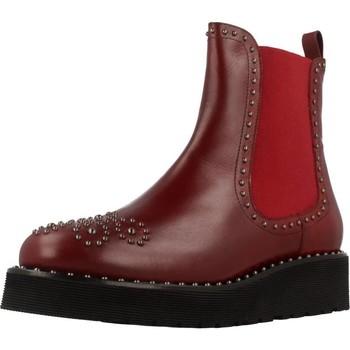 Schuhe Damen Boots Pon´s Quintana 7154 R04 Rot