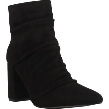Schuhe Damen Low Boots Be Different Be Yellow WHIP Schwarz