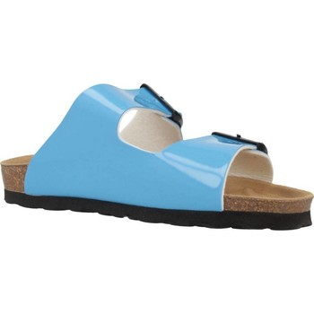 Schuhe Damen Pantoffel Antonio Miro 316603 Blau