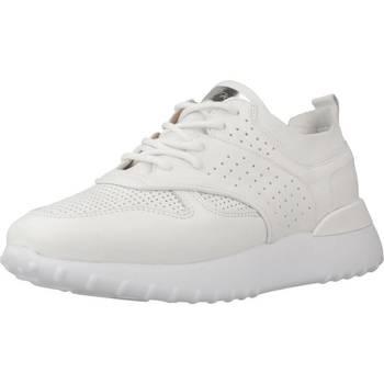 Schuhe Damen Sneaker Low Alpe 4064 02 Weiß