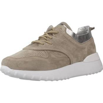Schuhe Damen Sneaker Low Alpe 4064 11 Brown