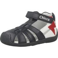 Schuhe Jungen Sportliche Sandalen Chicco GIANPIERO Blau