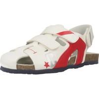 Schuhe Jungen Sportliche Sandalen Chicco HELIX Weiß